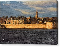 River Tweed At Berwick - Photo Art Acrylic Print
