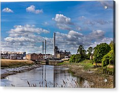 River View. Acrylic Print by Gary Gillette