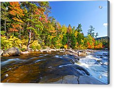 River View N.h. Acrylic Print by Michael Hubley