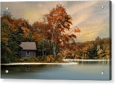 River View Acrylic Print by Robin-Lee Vieira