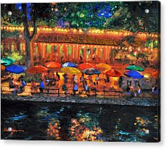 Da190 River Walk By Daniel Adams Acrylic Print