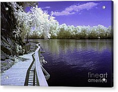 River Walk Acrylic Print by Paul W Faust -  Impressions of Light
