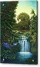 River's Edge Acrylic Print by Michael Frank