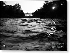 Acrylic Print featuring the photograph Rivers Edge by Michael Krek