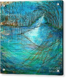 River's Eye Acrylic Print