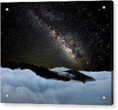 Rivers In The Sky Acrylic Print by John Fan