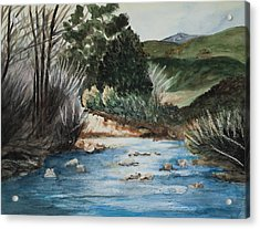 Riverscape Acrylic Print