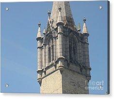 Riverside Church Acrylic Print by Robert Daniels