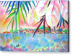 Riverside Acrylic Print