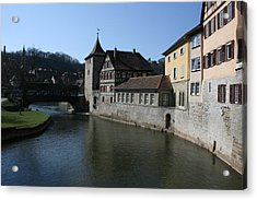 Acrylic Print featuring the photograph Riverview by Steve Godleski
