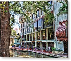 Riverwalk Acrylic Print