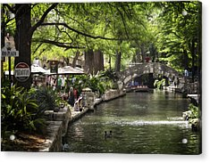 Acrylic Print featuring the photograph Girl By The Water by Steven Sparks