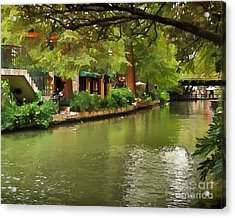 Riverwalk San Antonio Acrylic Print