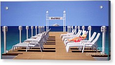 Riviera Dreaming Acrylic Print by Michael Swanson