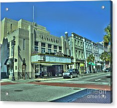 Riviera Theatre Acrylic Print