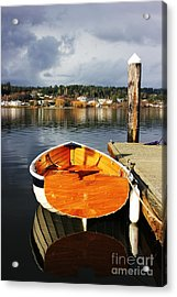 Ro Acrylic Print by Alison Tomich