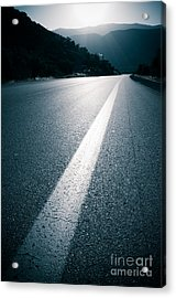 Road Acrylic Print by Boon Mee
