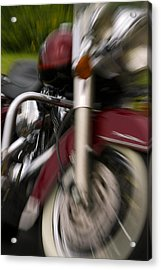 Road King Acrylic Print by Timothy McIntyre