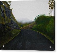 Road Near Gresford Nsw Acrylic Print