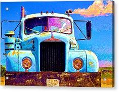Road Rage Acrylic Print