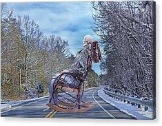Road Rocker Acrylic Print