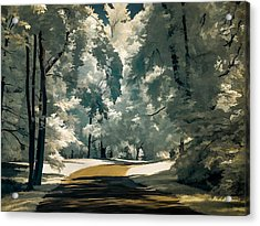 Acrylic Print featuring the photograph Road To Anywhwere by Steve Zimic