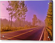 Road To... Acrylic Print by Daniel Thompson