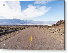 Road To Death Valley Acrylic Print