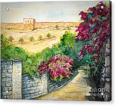 Road To Eastern Gate Acrylic Print