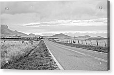 Road To Elgin Acrylic Print by Swift Family