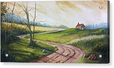 Road To Heaven  Acrylic Print by Jolyn Kuhn