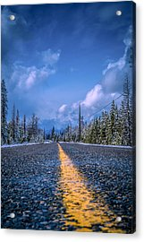 Acrylic Print featuring the photograph Road To Home by Rob Tullis