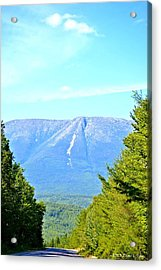 Road To Katahdin Acrylic Print by Tara Potts