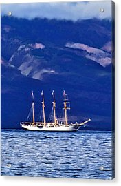 Acrylic Print featuring the photograph Road To Lahaina 34 by Dawn Eshelman