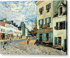 Road To Marly Acrylic Print by Alfred Sisley