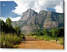 Road To Mount Mulanje Acrylic Print by Colin Carmichael