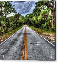 Road To No Where Acrylic Print