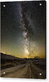 Road To Nowhere - Great Rift Acrylic Print
