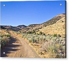 Road To Nowhere - Storey Nevada Acrylic Print