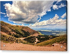 Road To Pikes Peak Acrylic Print