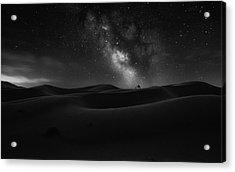 Road To Stars Acrylic Print