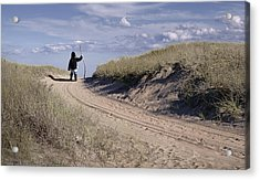 Road To The Future Acrylic Print by Rick Mosher