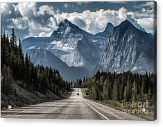 Road To The Great Mountain Acrylic Print by Yanliang Tao