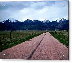 Acrylic Print featuring the photograph Road To Westcliffe by Carlee Ojeda