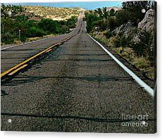 Acrylic Print featuring the photograph Road Trip by Lin Haring