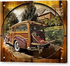 Roadside Picnic Acrylic Print