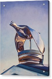 Acrylic Print featuring the painting Roadster by Joe Winkler