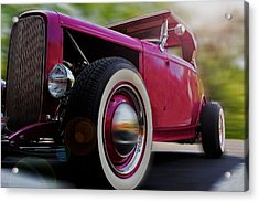 Roadster Acrylic Print by Ron Grafe