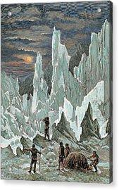 Roald Engebrecht Amundsen (borge, 1872 Acrylic Print by Prisma Archivo