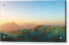 Roaming Hills And Valleys 2 Acrylic Print